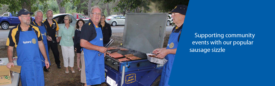 Clare Rotary BBQ Trailer