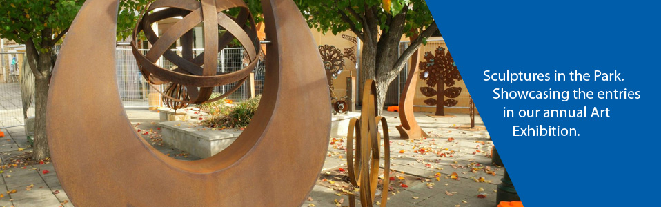 Sculptures in the Park, Clare Rotary Art Show
